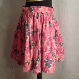 Tracy Feith Skirts - Tracy Feith 13 Skater skirt pink flowers